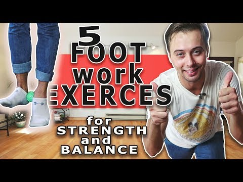 FOOTWORK  EXERCISES FOR BETTER BALANCE And STRENGTH