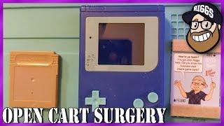 Open Cart Surgery - Mystery Game Boy Cart