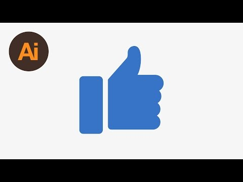 Learn How to Draw a Like Icon in Adobe Illustrator | Dansky