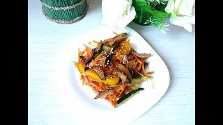 Нереальная вкуснятина из баклажанов! سلطة الباذنجان Ensalada de berenjenas Eggplant salad
