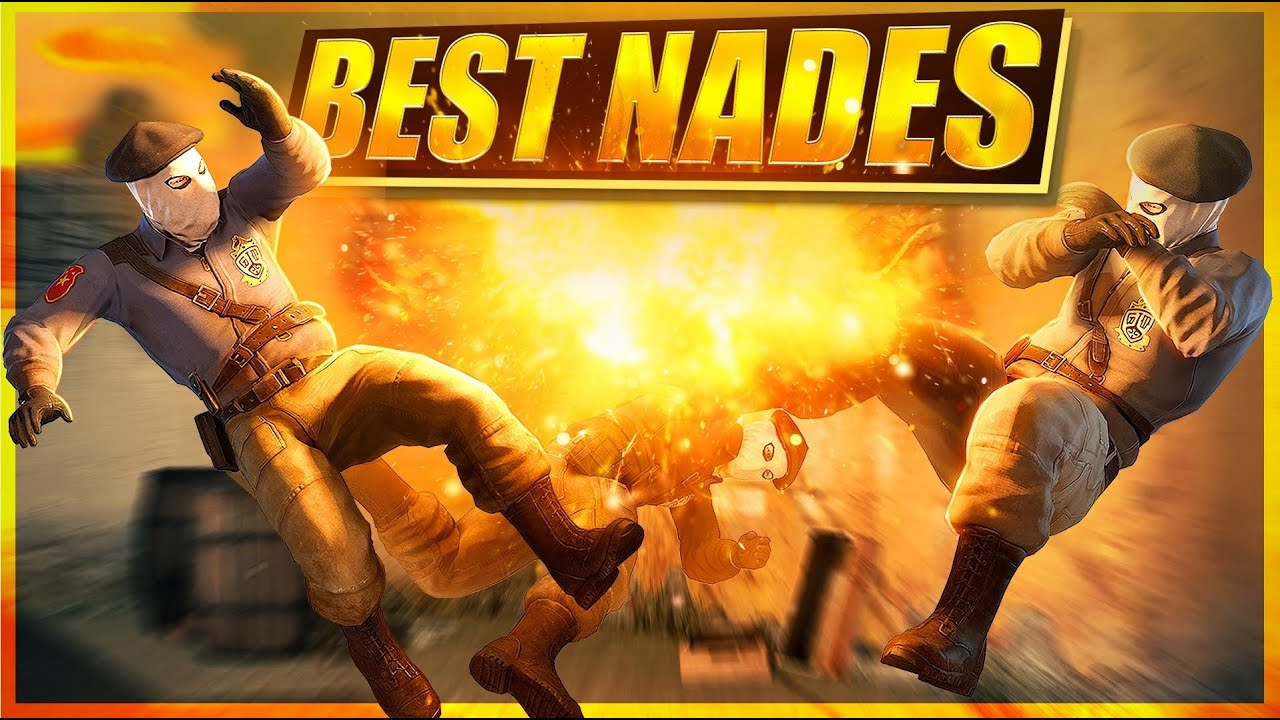 BEST CS:GO NADE KILLS BY PROS EVER