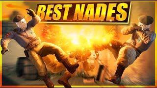 BEST CS:GO NADE KIĻLS BY PROS EVER
