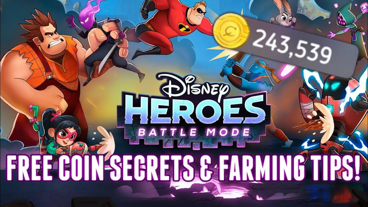 disney heroes battle mode free hero