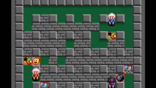 Super Bomberman 2 - Battle Mode 1 - User video