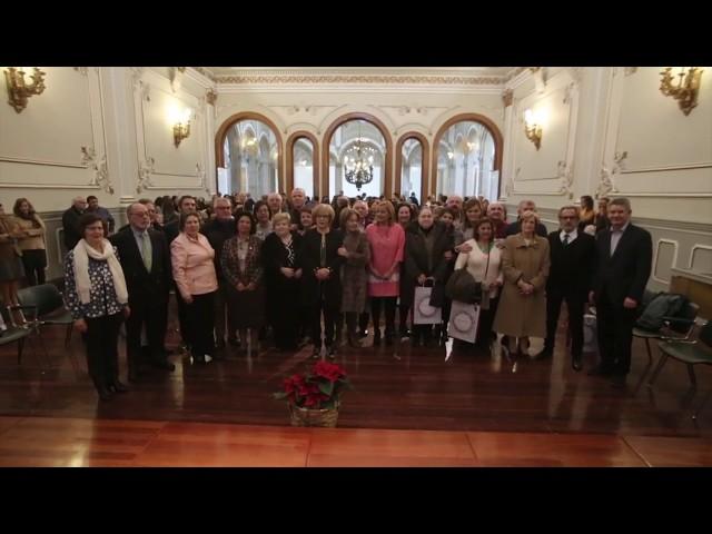 Acto de homenaxe aos funcionarios da Deputación que se xubilan no 2017