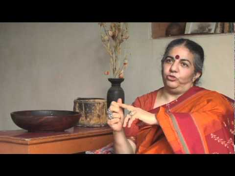 Vandana Shiva on Industrial Agriculture