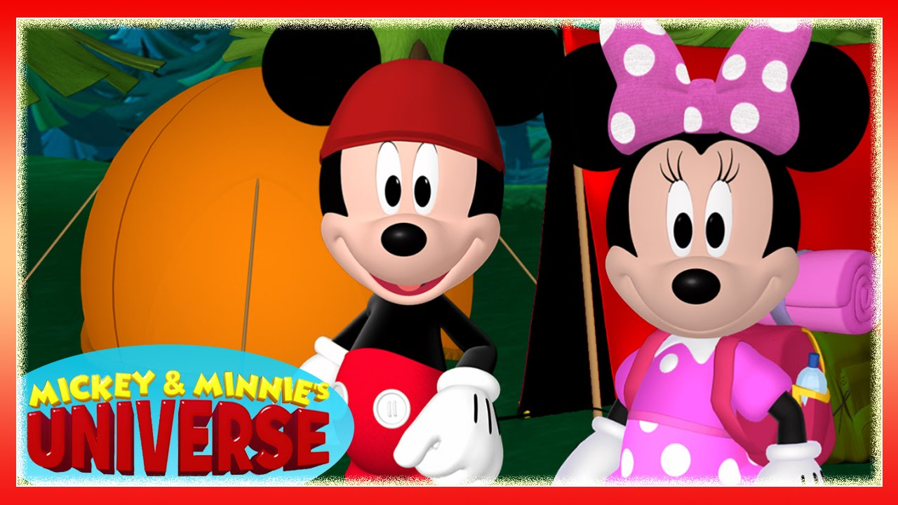 Mickey Amp Minnie S Universe Mickey Mouse Clubhouse Camping