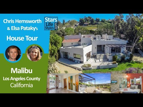 Chris Hemsworth and Elsa Pataky's Malibu House Tour | Los Angeles, California | $3.45 Million