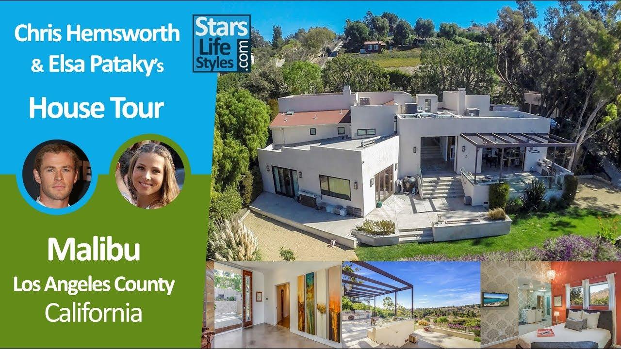 Miley Cyrus Malibu House Tour Los Angeles California 2 5 Million Celebrity House Youtube
