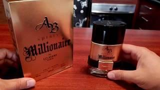 AB spirit Millionaire de Lomani umboxing