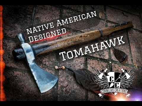 Native American Designed Hawk - Tomahawk #10