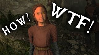 Skyrim - 5 WTF Moments