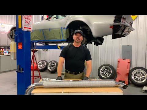 Installing Patriot Exhaust Side Pipes On A C3 Corvette