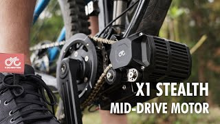 X1 Stealth in action- The most versatile mid drive conversion system