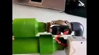 Pneumatic Solenoid valve used in a potato gun or homemade air cannon  - DIY