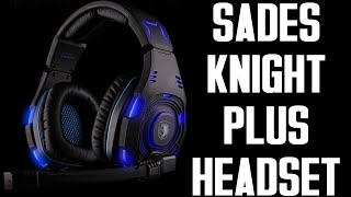 SADES Knight Plus Gaming Headset REVIEW