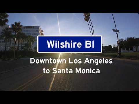 Wilshire Boulevard  Downtown Los Angeles to Santa Monica
