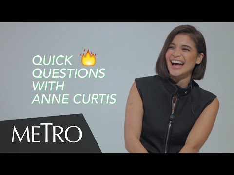 What Will Anne Curtis Cook For Her Fiancé Erwan Heussaff | Quick Fire Questions With Metro Magazine
