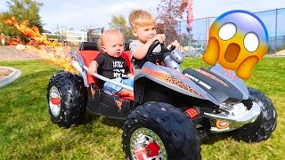 FAST POWER WHEELS CAR!