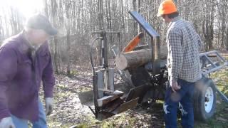 Homemade Firewood Processor