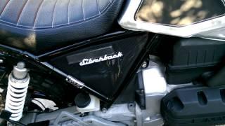 Bmw k75 scrambler Silverback