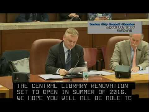 FY17Budget: Boston Public Library