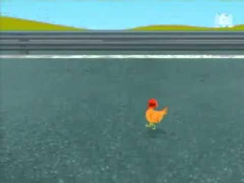 ,,Avez-vous déjà vu..? une poule de courses -Série d'animation française.
