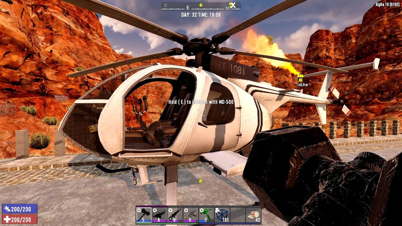 Download 7 Days To Die Alpha 19 - Flight Lesson - S1E15