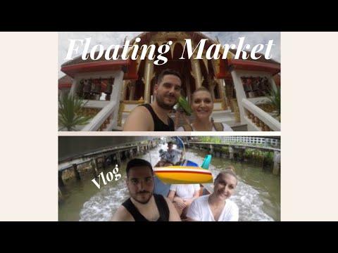 Travel Vlog: Floating market Thailand I Aida Almagro