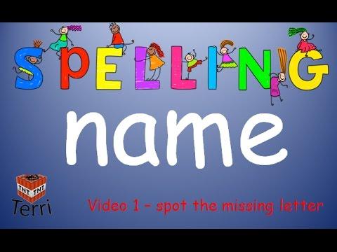 """Spelling - """"Name"""" - YouTube"""