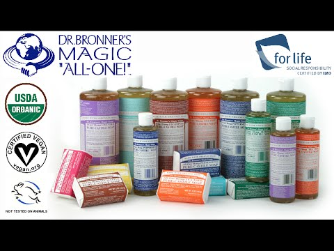 "Dr. Bronner's Organic ""All-One!"" VEGAN Magic Soap Review"