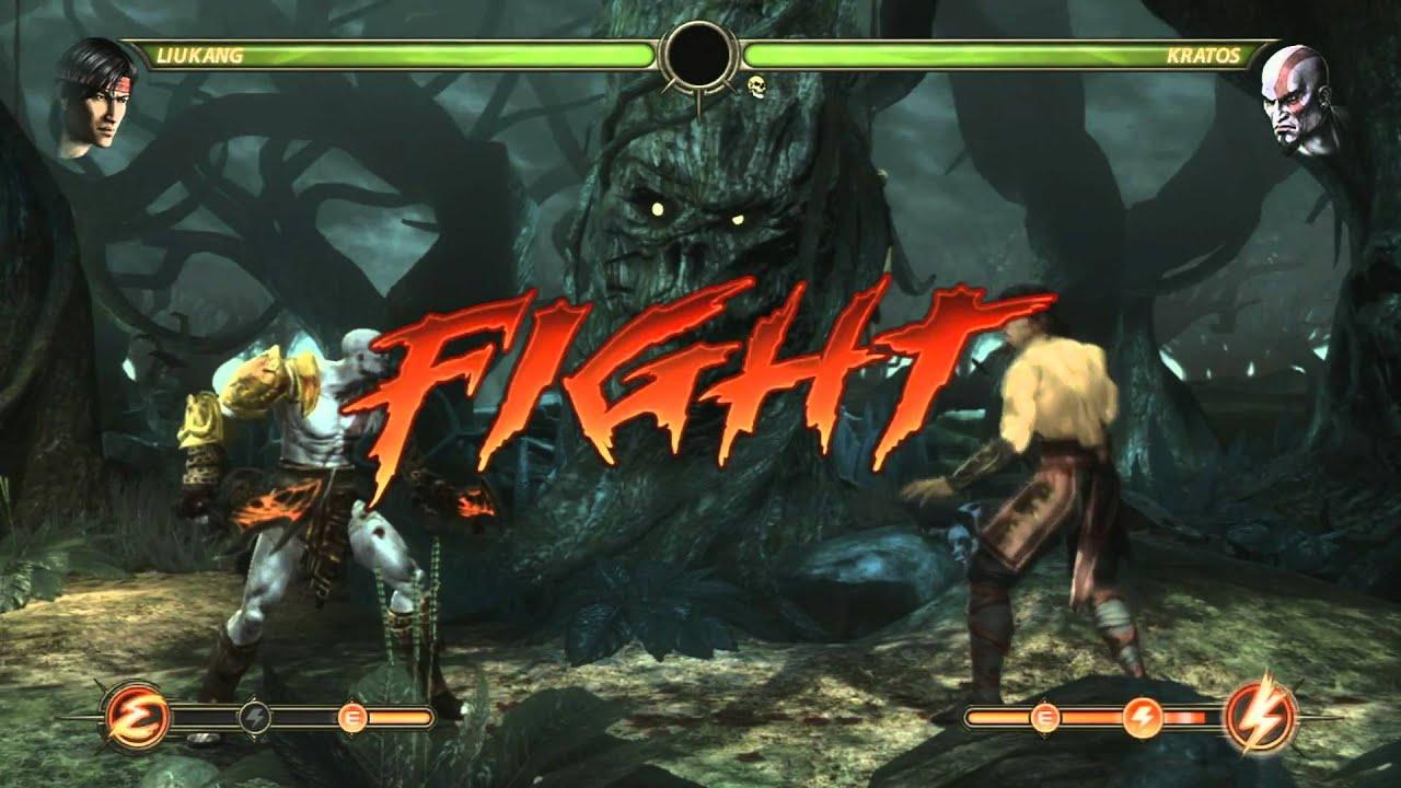Mortal Kombat 2010 Liu Kang Kratos Fatality - Year of Clean Water