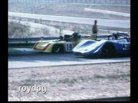 Interserie and F3 from Misano, Italy. 19.8.1973