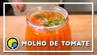 Como fazer receita de Molho de Tomate - Renato Carioni
