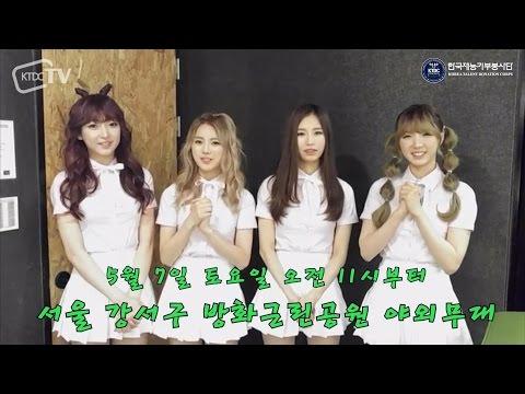 (한국재능기부봉사단)서울 강서구 나라사랑페스티벌 - 걸그룹 블루미_KTDCTV