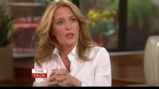 The Talk. Gillian Anderson (27.07.2011)