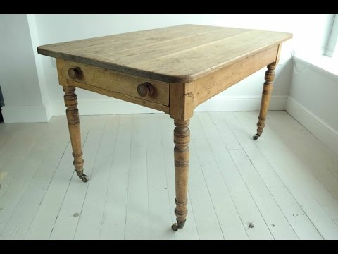 Antique Kitchen Tables L Shaped Outdoor Youtube