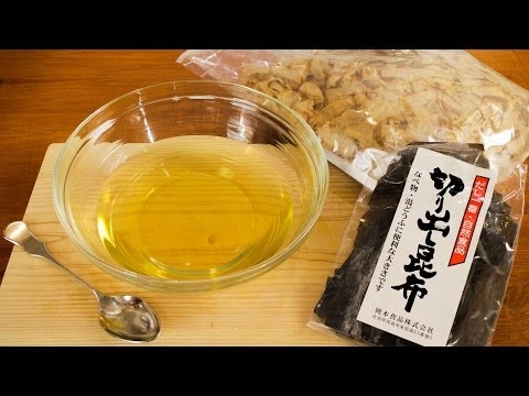 Dashi Stock Recipe - Original Japanese Fish Stock