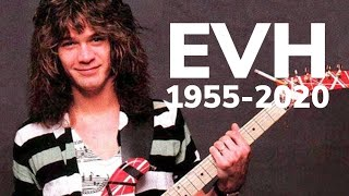 Eddie Van Halen (1955-2020) R.I.P.
