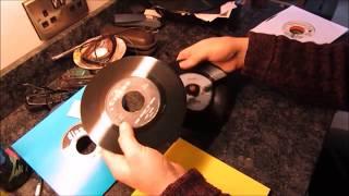 John Manship - Repairing Cracked Records, Sticker Removal & Dewarping