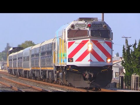 TRAINS in NORTHERN CALIFORNIA
