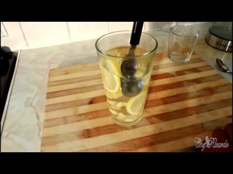 How To Lose Weight Fast Ginger Lamon Dater - Water For Fast Loss | Recipes By Chef Ricardo