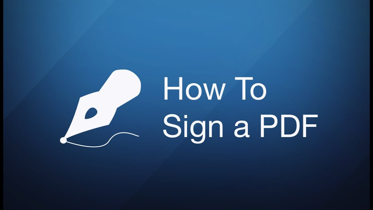 How to sign a PDF document on Mac? | PDF Expert