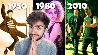 Modas Musicales de 1950 a 2010 | Jaime Altozano
