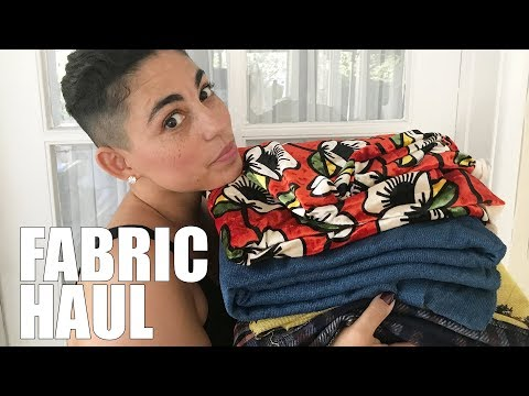 FABRIC HAUL: OCTOBER