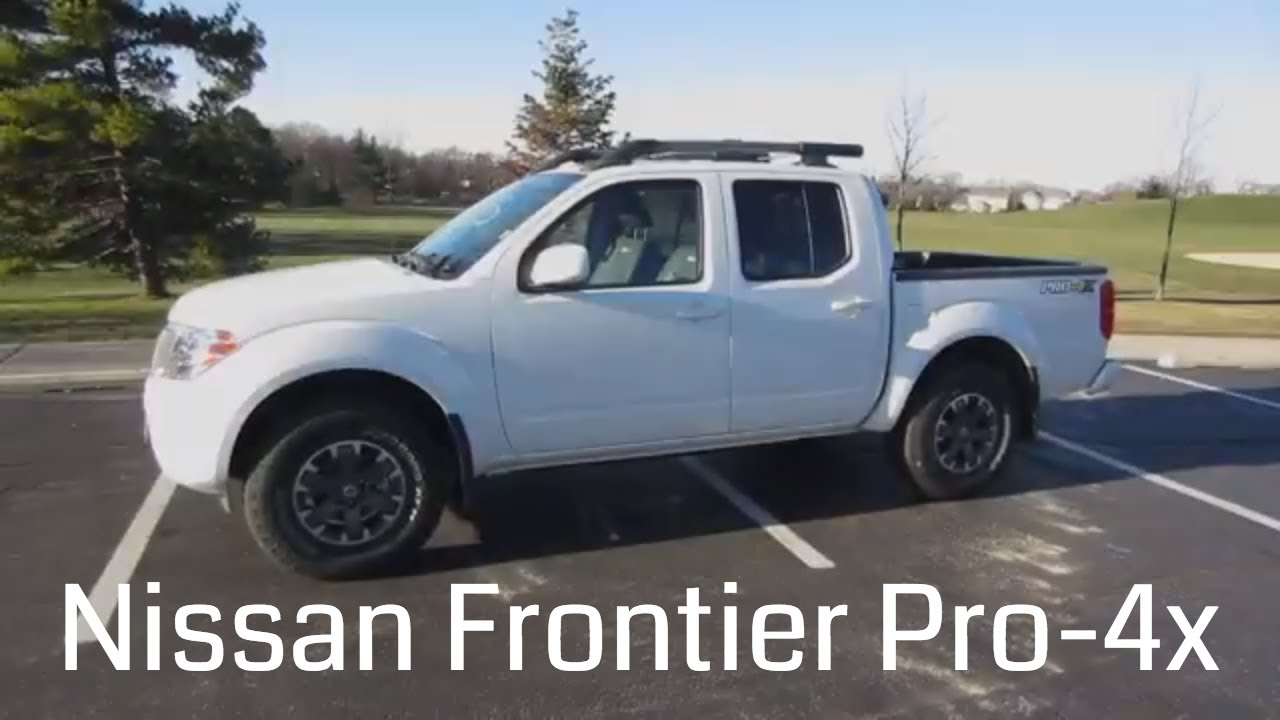 2017 nissan frontier pro 4x full rental car review and test drive youtube. Black Bedroom Furniture Sets. Home Design Ideas
