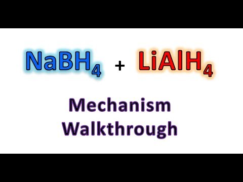 NaBH4 and LiAlH4 Reduction Mechanism Made Easy! | Organic Chemistry