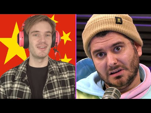 China Bans PewDiePie & Ethan is Pissed