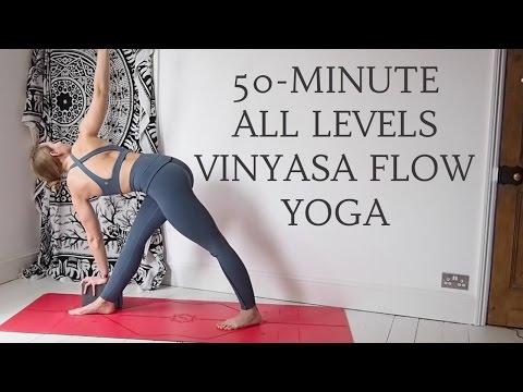 YOGANUARY #31 | 50-Minute All Levels Vinyasa Yoga Flow | CAT MEFFAN