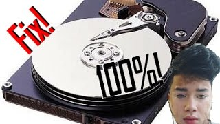 How to fix 100% Disk Usage on Microsoft Windows 10/8.1/8/7/Vista